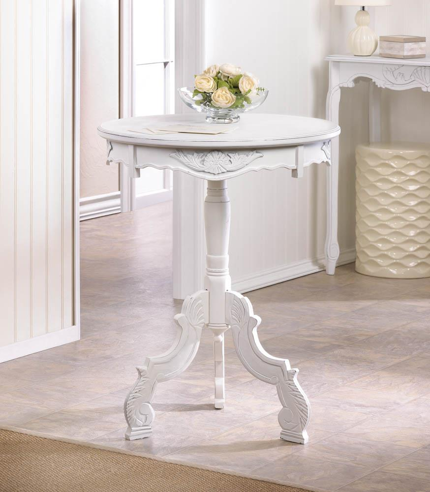 Rococo accent table wholesale at koehler home decor for Koehler home decor