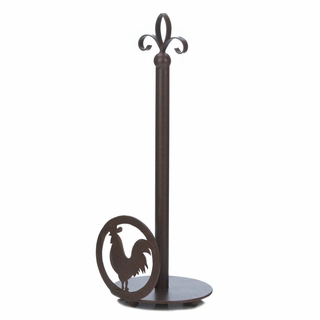 Rooster Silhouette Paper Towel Holder