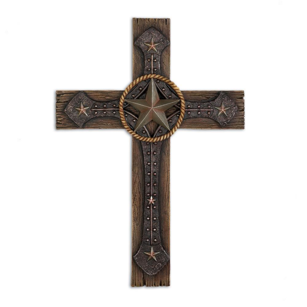 Rustic Home Decor Wholesale: Rustic Cowboy Wall Cross Wholesale At Koehler Home Decor