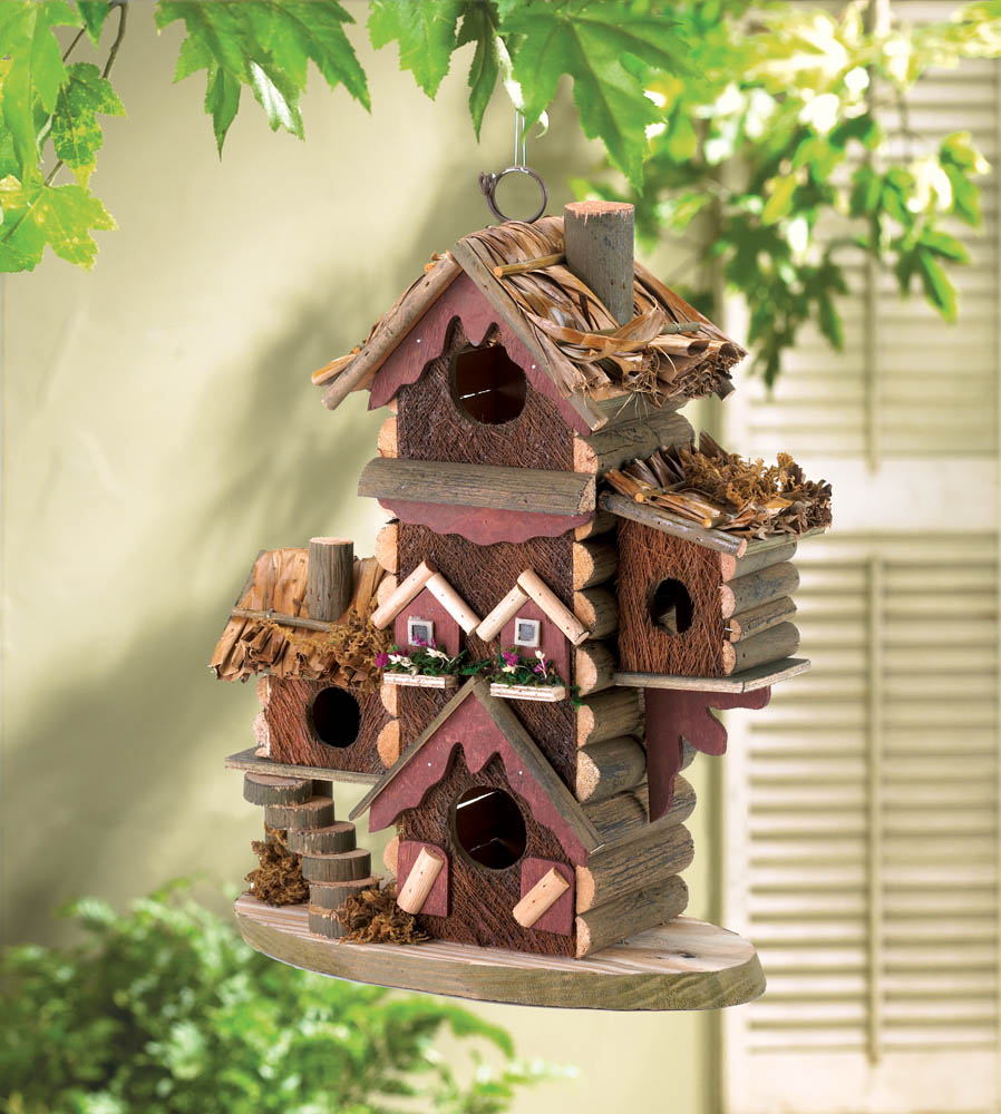 Rustic bird house wholesale at koehler home decor for Bird house styles
