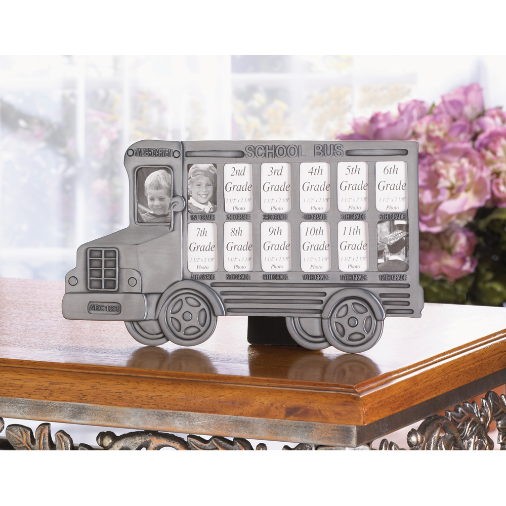 School Bus Picture Frame Wholesale at Koehler Home Decor