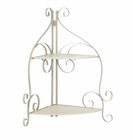 Scrollwork Corner Shelf
