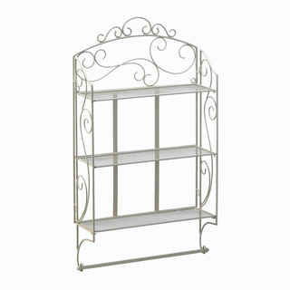 Scrollwork Display Wall Shelf