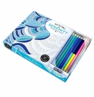 Serenity Adult Coloring Book With Pencils
