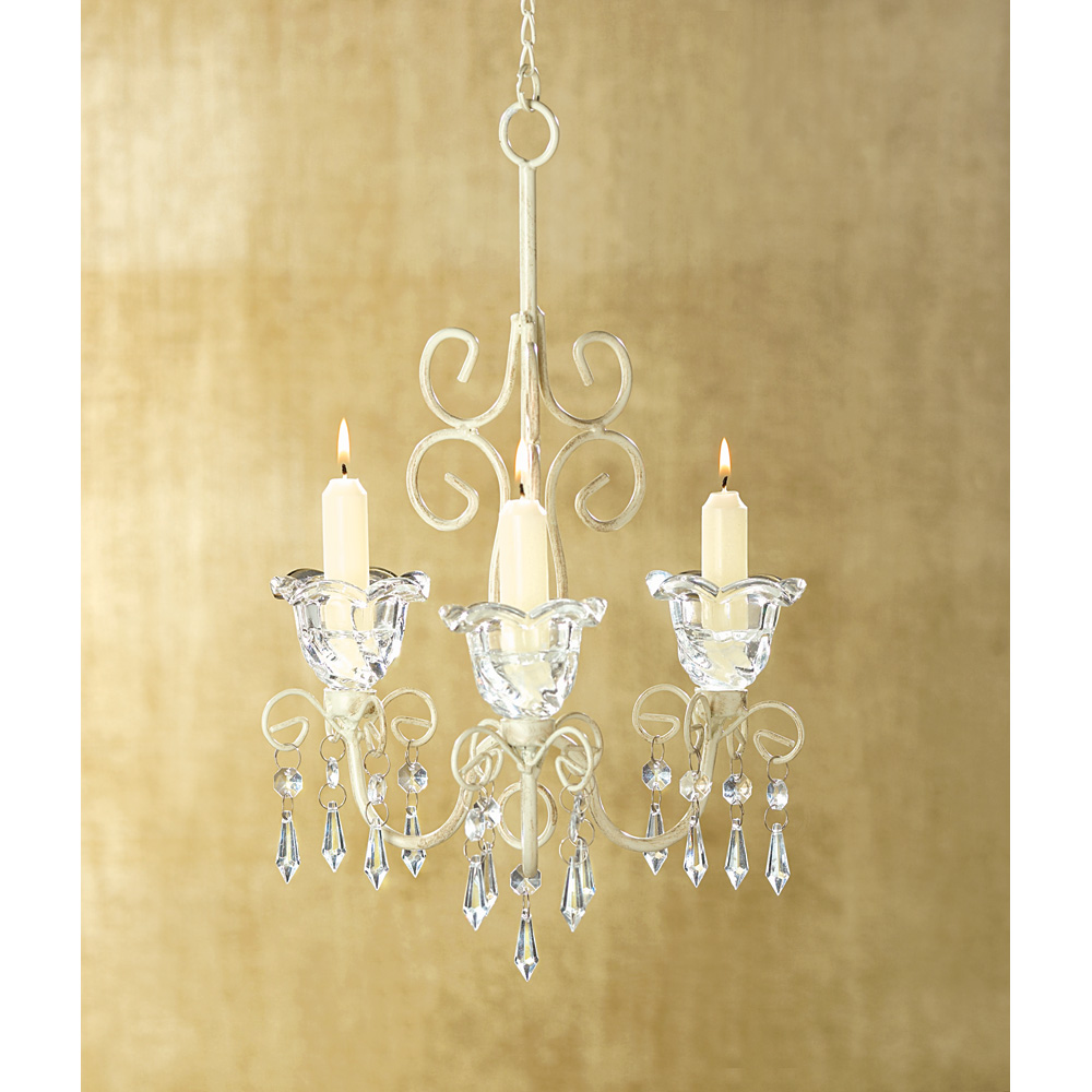 Shabby Chic Scroll Candelier Wholesale At Koehler Home Decor