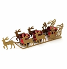 Shimmering Sleigh Candle Holder