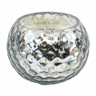 Silver Honeycomb Scented Candle