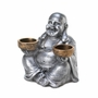 Sitting Buddha Candle Holder
