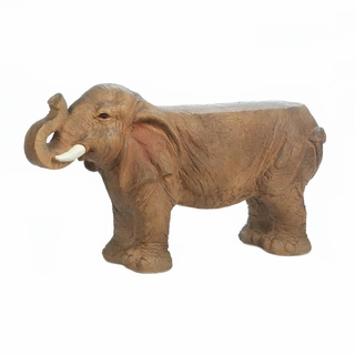 Small Elephant Bench