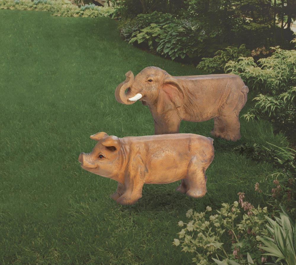 Small Elephant Decor: Small Elephant Bench Wholesale At Koehler Home Decor