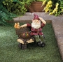 Solar Gnome On Welcome Bench