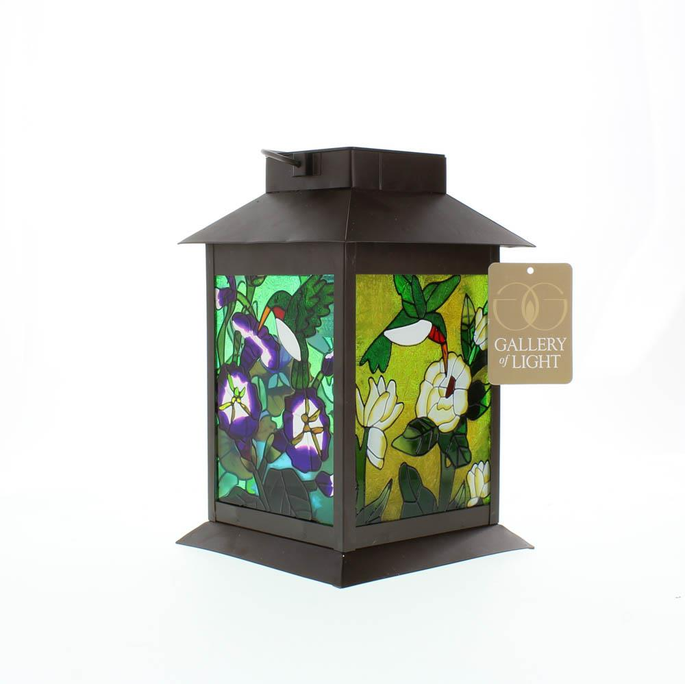solar powered decorative lanterns solar powered floral lantern at koehler home decor 5594