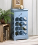 Somerset Blue Wine Cabinet