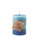 Soothing Aroma Pillar Candle 3X4