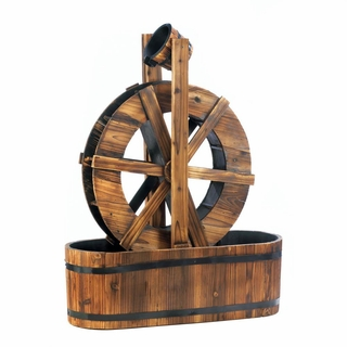 Spinning Water Mill Fountain