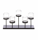 Staggered Pedestal Candle Holder