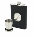 Stainless Steel Flask & Shot Set