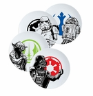 Star Wars 4 Pc Dinner Plate Set