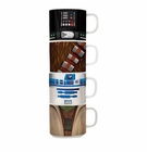 Star Wars Stacking Mugs 4 Pc. Set