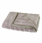 Taupe Faux Fur Throw Blanket