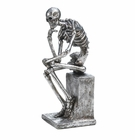 """The Thinker"" Skeleton Statue"