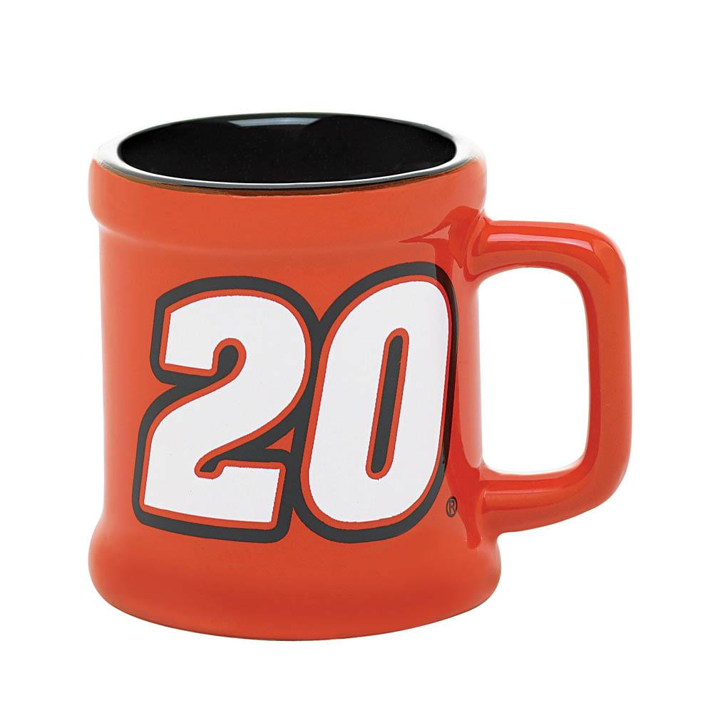 Tony Stewart Mug Shot Glass
