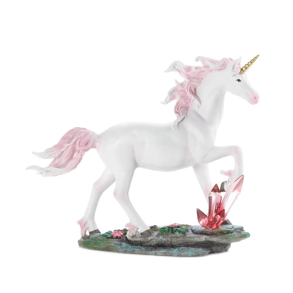 UNICORN Crystals Figurine