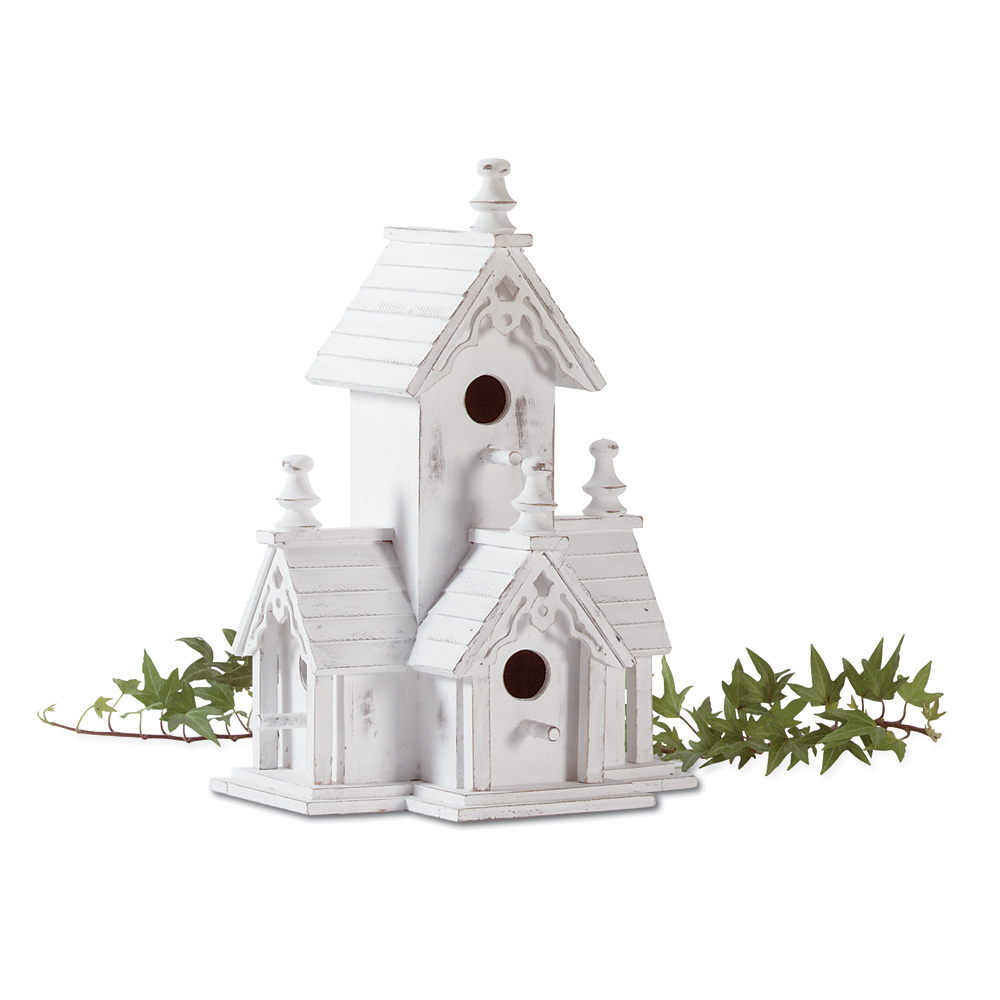 Wholesale Home Decor: Victorian Garden Bird House Wholesale At Koehler Home Decor