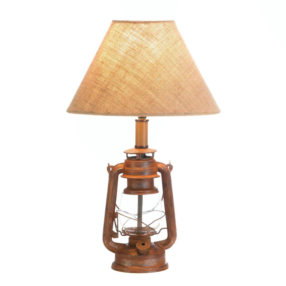 Vintage camping lantern table lamp wholesale at koehler Cheap table lamps