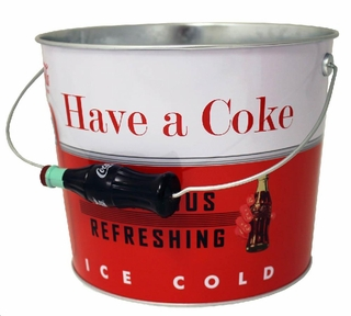 Vintage Coke Beverage Bucket