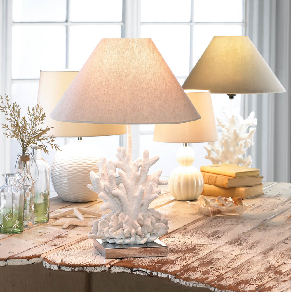 White coral lamp wholesale at koehler home decor for Koehler home decor