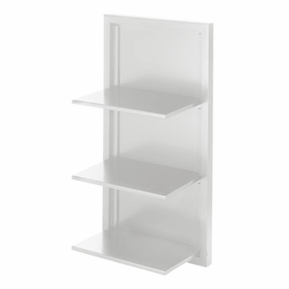 White Folding Wall Shelf