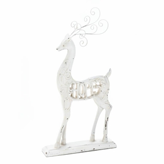 White Hope Reindeer Figurine