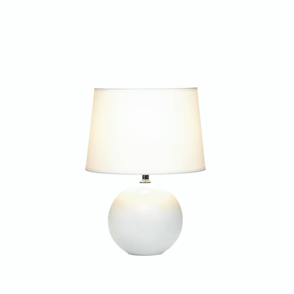 White round base table lamp wholesale at koehler home decor for Table lamp bases wholesale