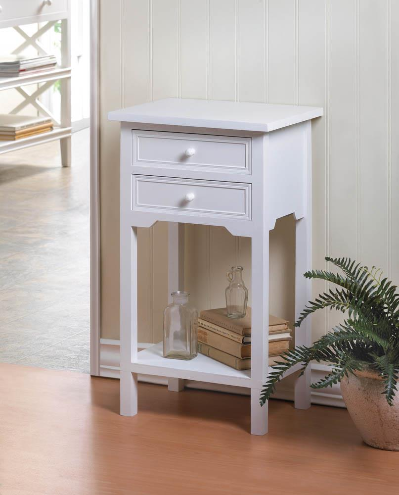 White accent table wholesale at koehler home decor for Koehler home decor