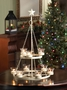 White Tree Chandelier