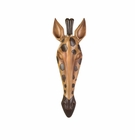 Wild Giraffe Wall Plaque