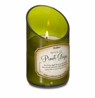 Wine Bottle Pinot Grigio Scented Candle