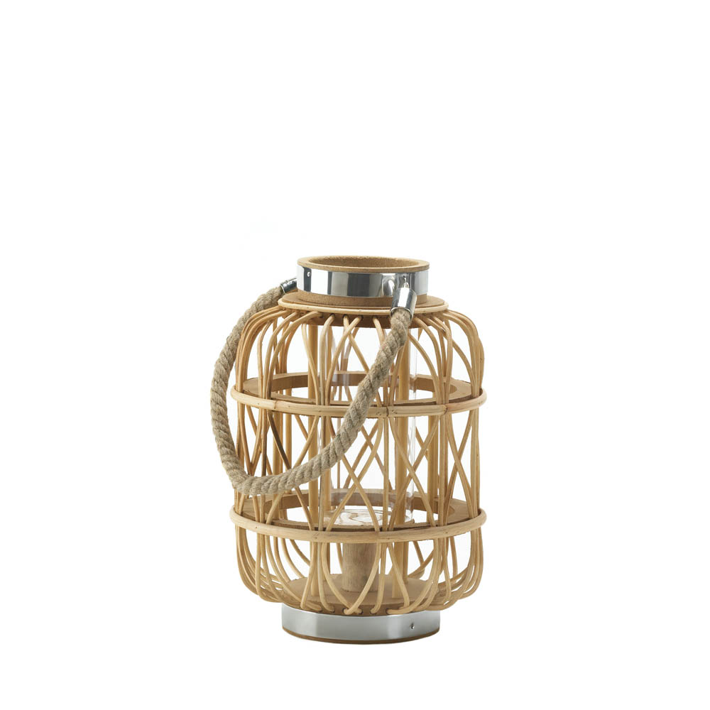Woven Rattan Candle Lantern S Wholesale At Koehler Home Deor