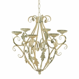 Wrought Iron Candelier