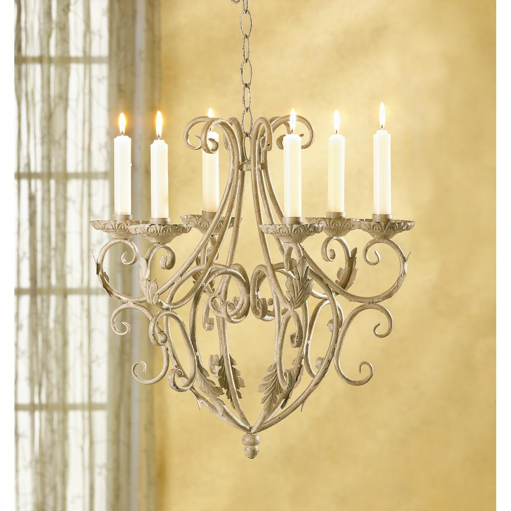 Wrought iron candelier wholesale at koehler home decor for Koehler home decor