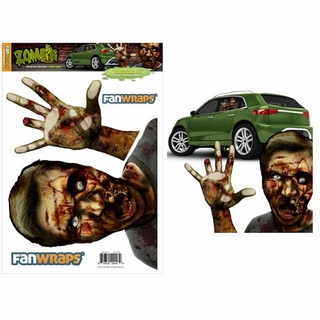 Zombie Window Buddies Gory Gary Car Window Decal