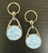 Amicae Domed Metal Keychain *NEW*