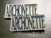 Archonette Acrylic Pin