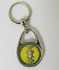 CEP Domed Metal Keychain