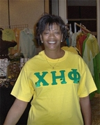 Chi Eta Phi Plain Tee with Turtles