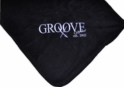 Groove Embroidered Fleece Blanket