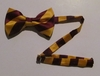 Kappa League Striped Bowtie