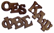 Large Wooden Letter Pins