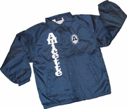 Amicette Stitched Letter Jacket
